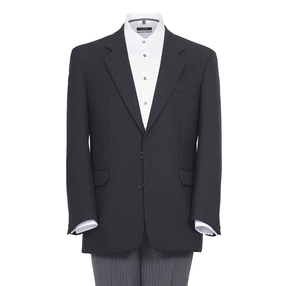 Masonic Suit Jacket for Men in Black