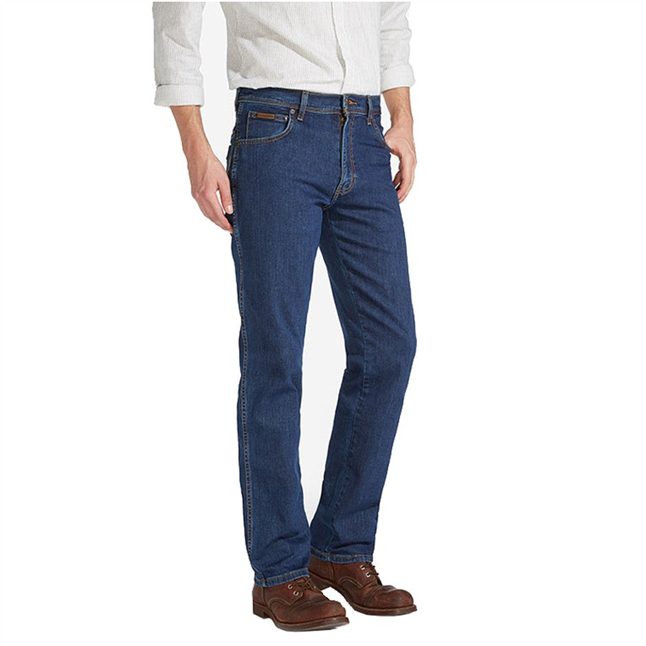 Texas Stretch Jeans for Men in Darkstone