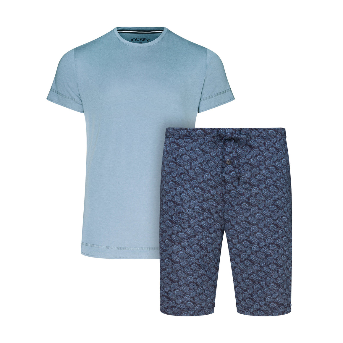 Everyday 1/2 Knit Short Pyjamas for Men in Denim