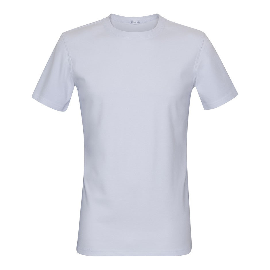 Thermal Short Sleeve T-Shirt for Men in White