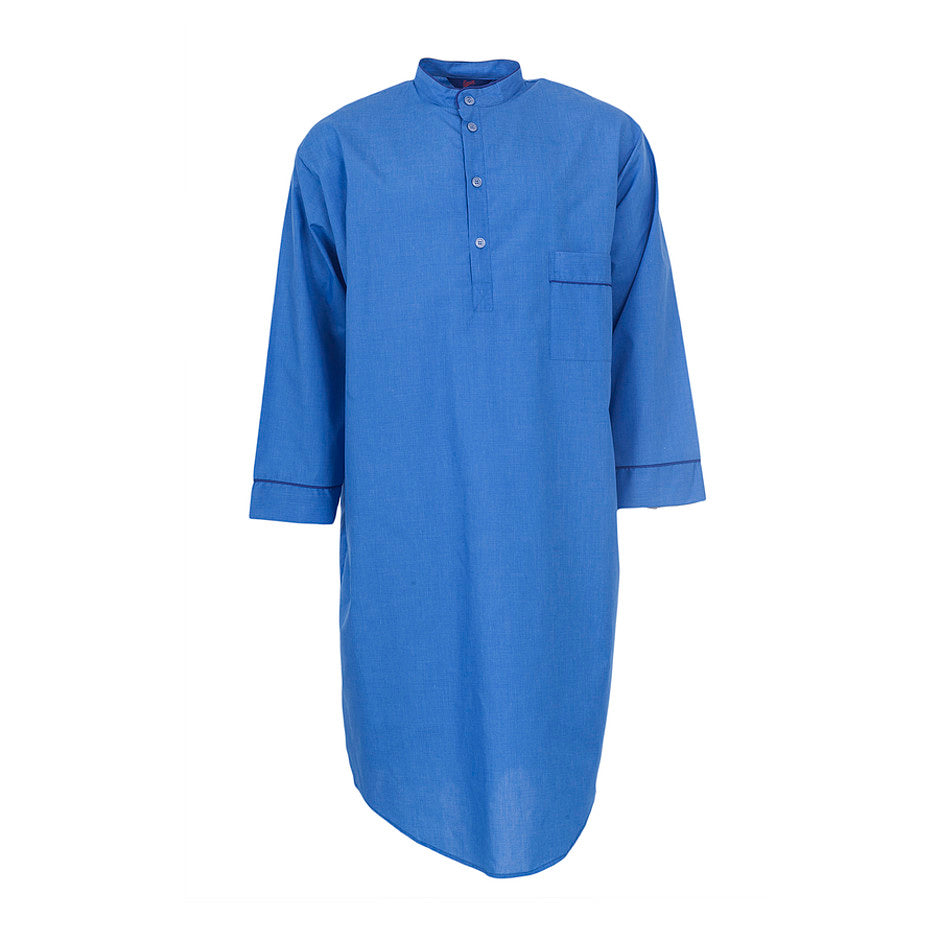 Nightshirt for Men in Blue