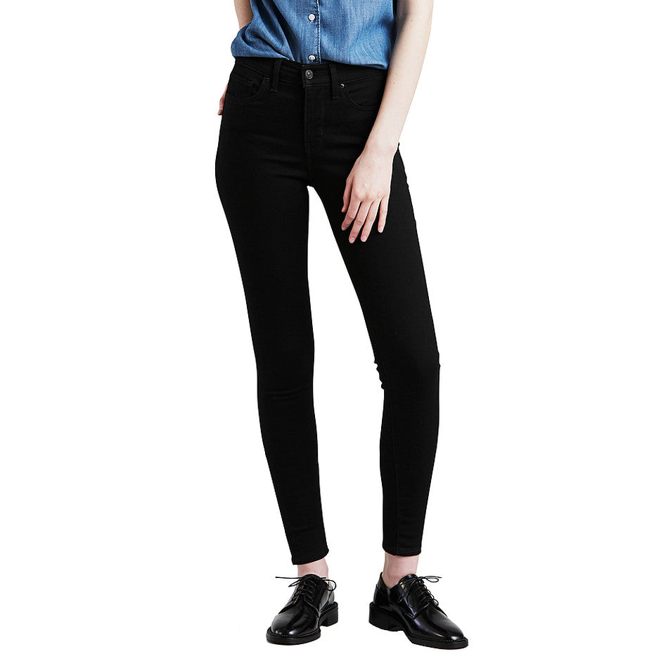 310 Super Shaping Skinny Jeans for Women in Black Galaxy