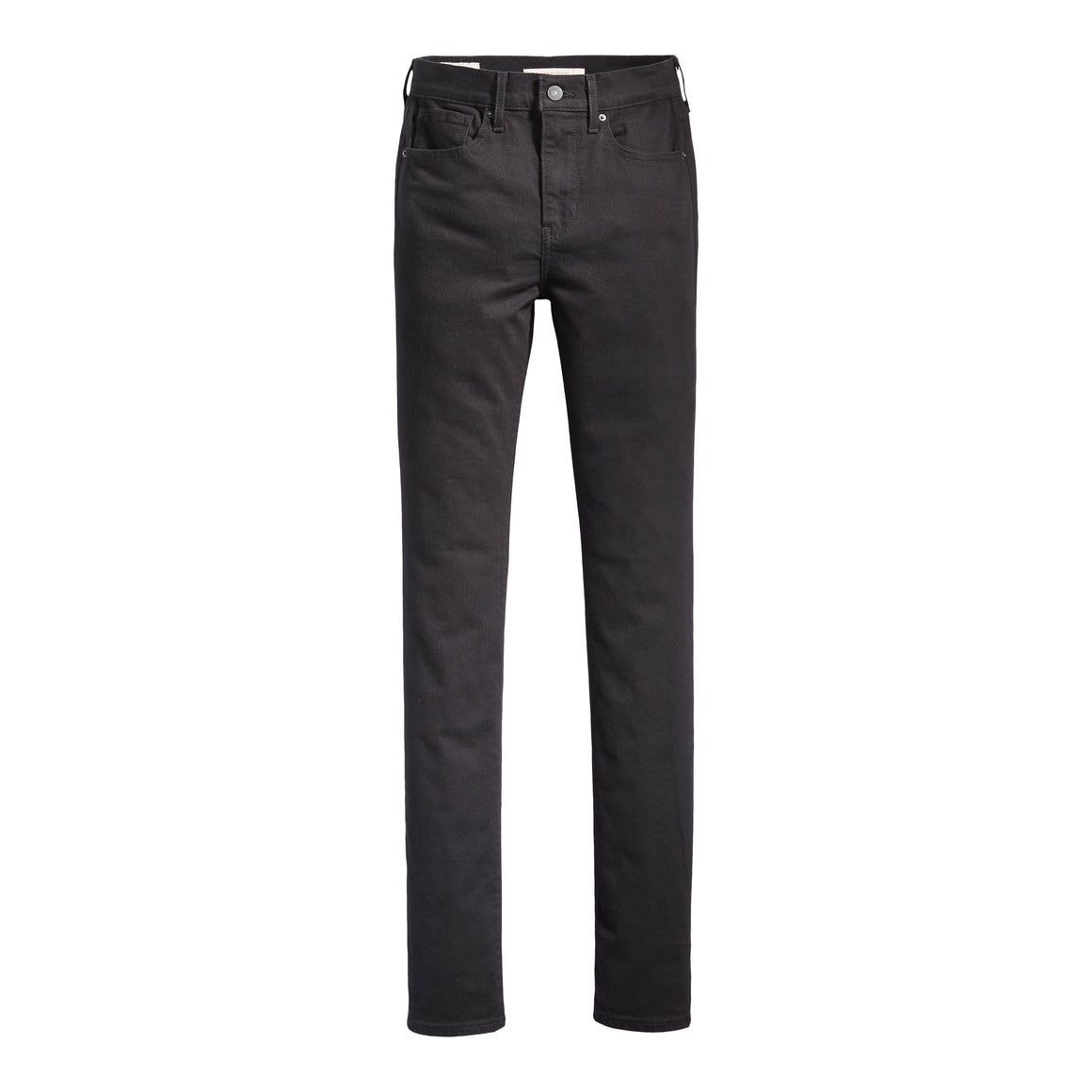 724 High-Waisted Straight Jeans for Women in Black Sheep