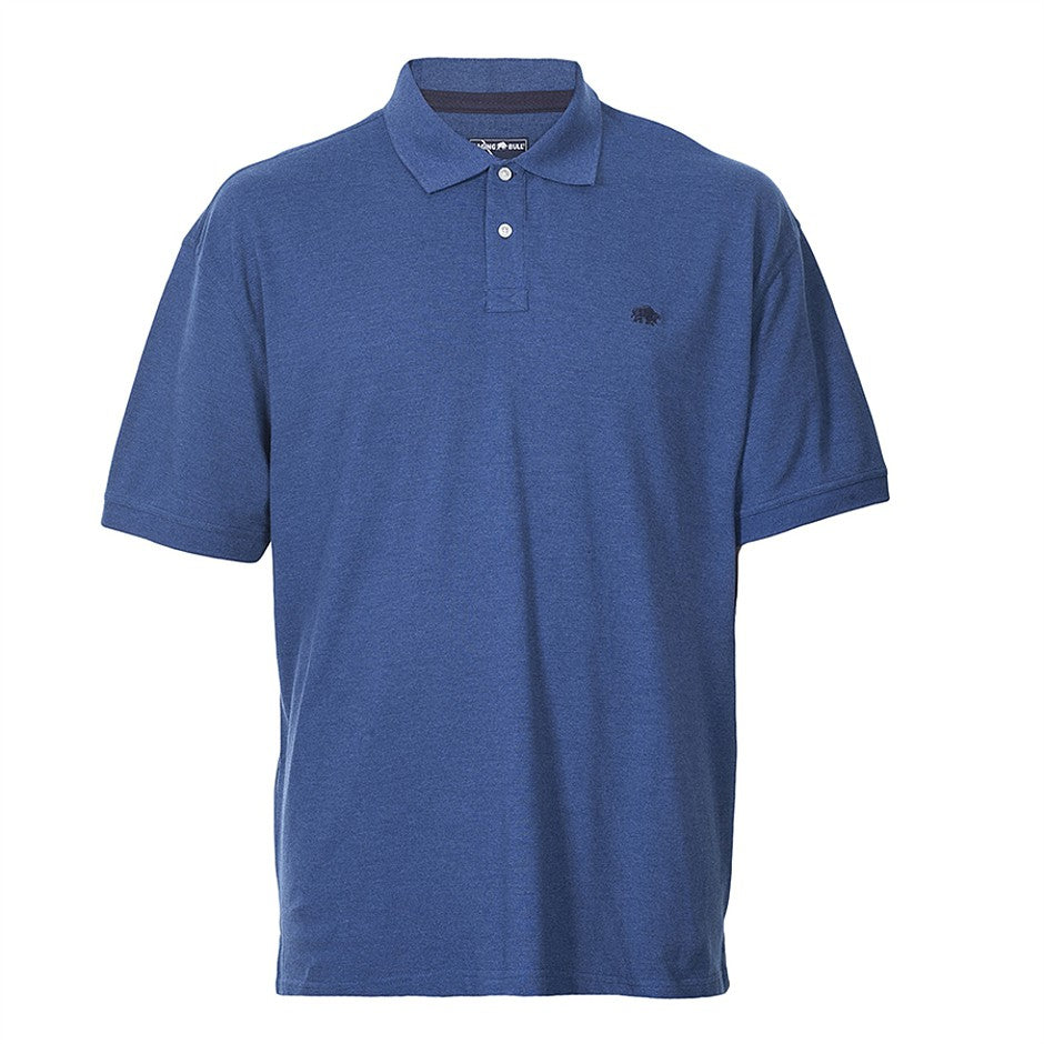 Big & Tall New Signature Polo Shirt for Men in Blue