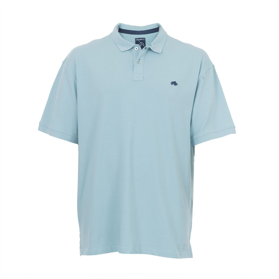 Big and Tall Polo Shirt for Men in Mint