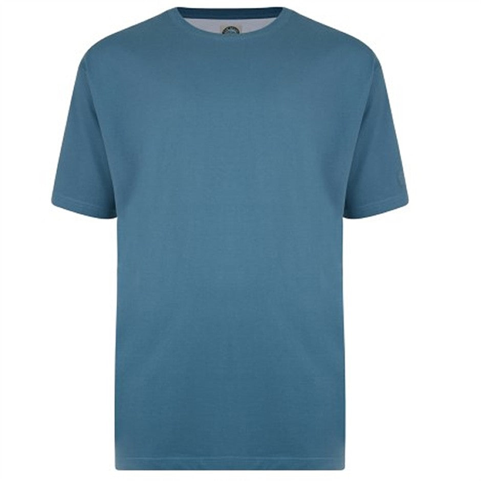 T-Shirt for Men in Denim Blue 2XL - 8XL