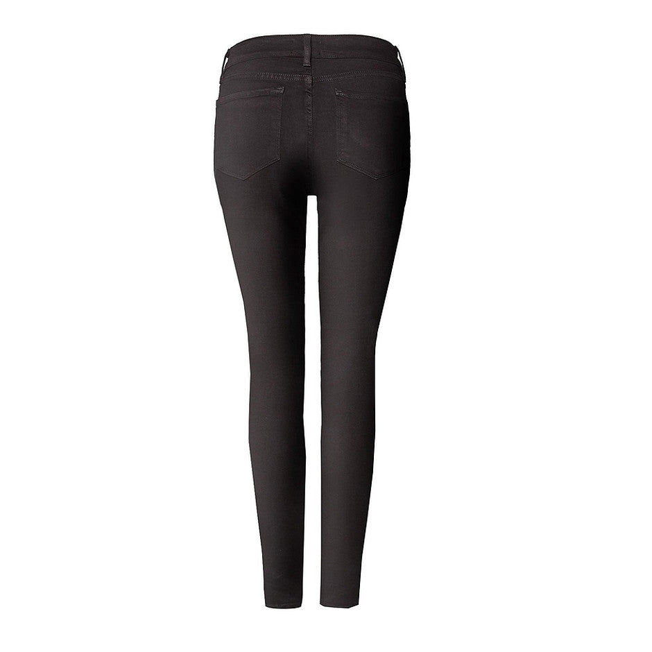 Ami Skinny Legging Fit Premium Denim Jeans for Women in Black