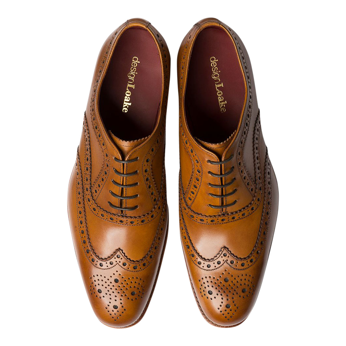 Fearnley Brogue Shoes  for Men in Tan