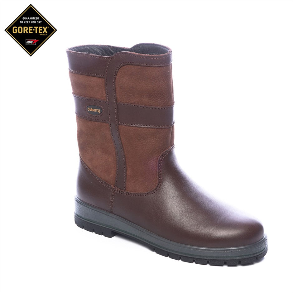 Roscommon Leather Boots for Women in Walnut