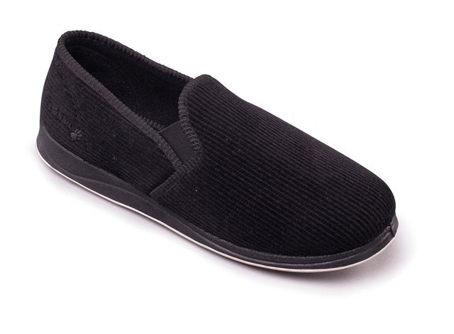 Albert Slippers for Men in Black