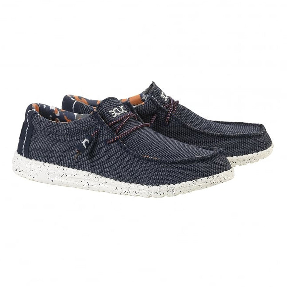 Wally Sox Shoes for Men in Blue