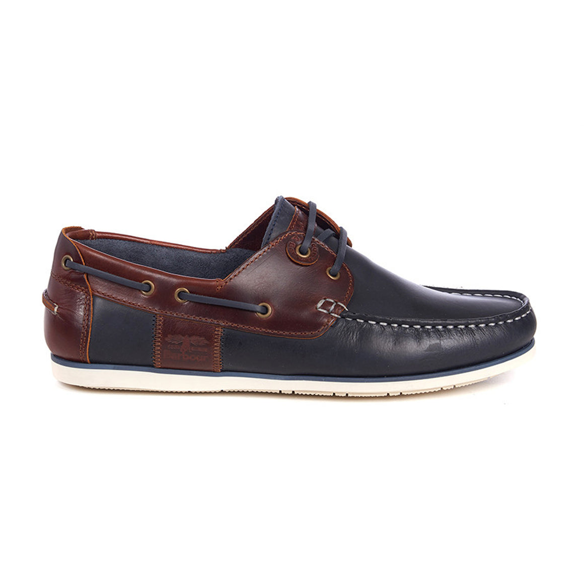Capstan Boat Shoe  for Men in Navy & Brown