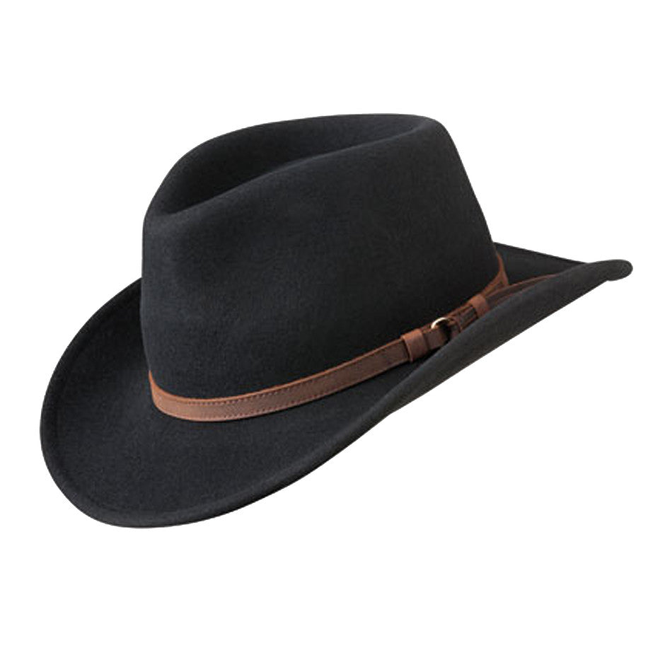 Outback Hat for Men in Black