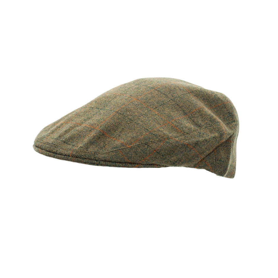 Hereford Pure New Wool Tweed Cap for Men in 5033