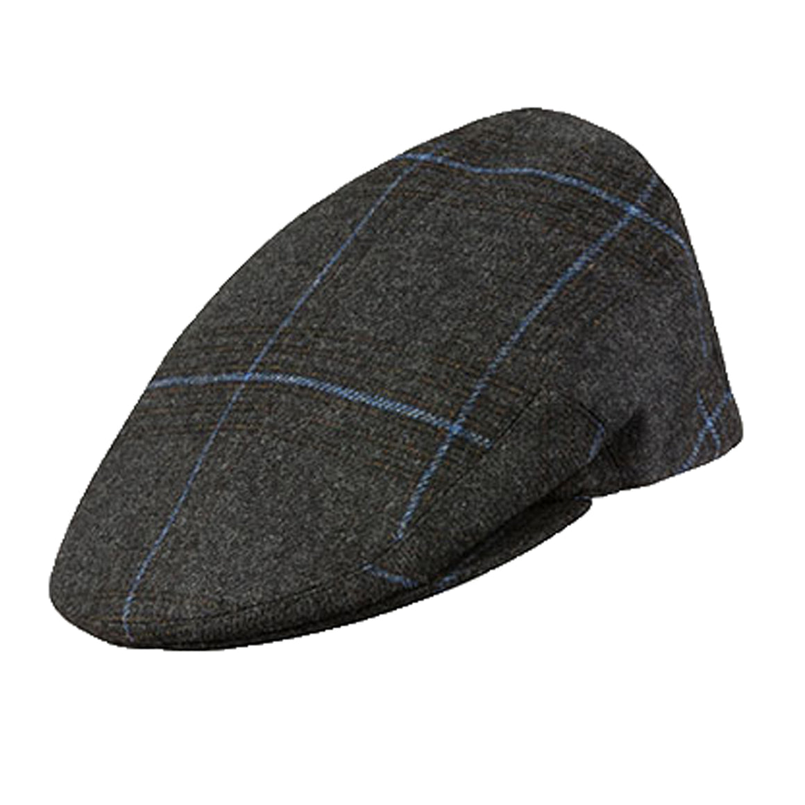 Kinloch Flat Cap  for Men in Charcoal