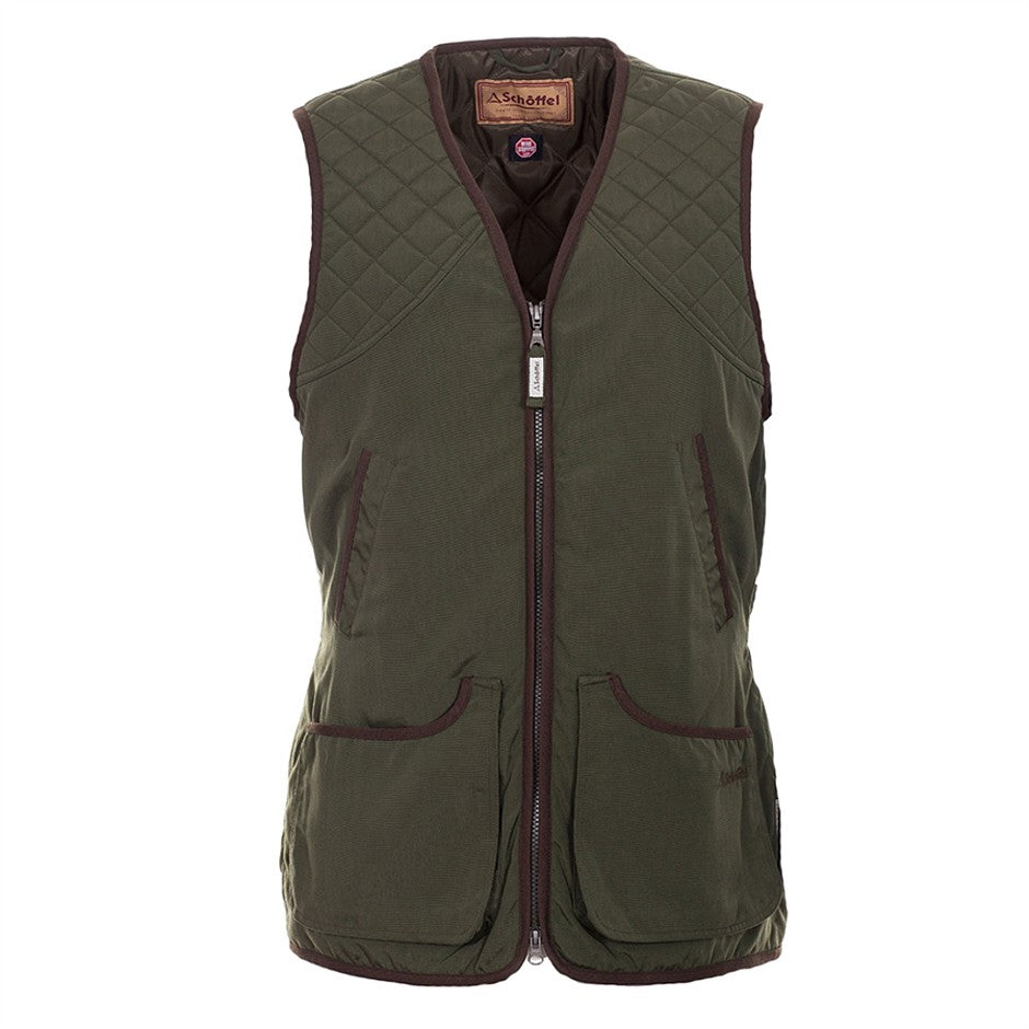 Stamford Vest for Men in Hunter Green