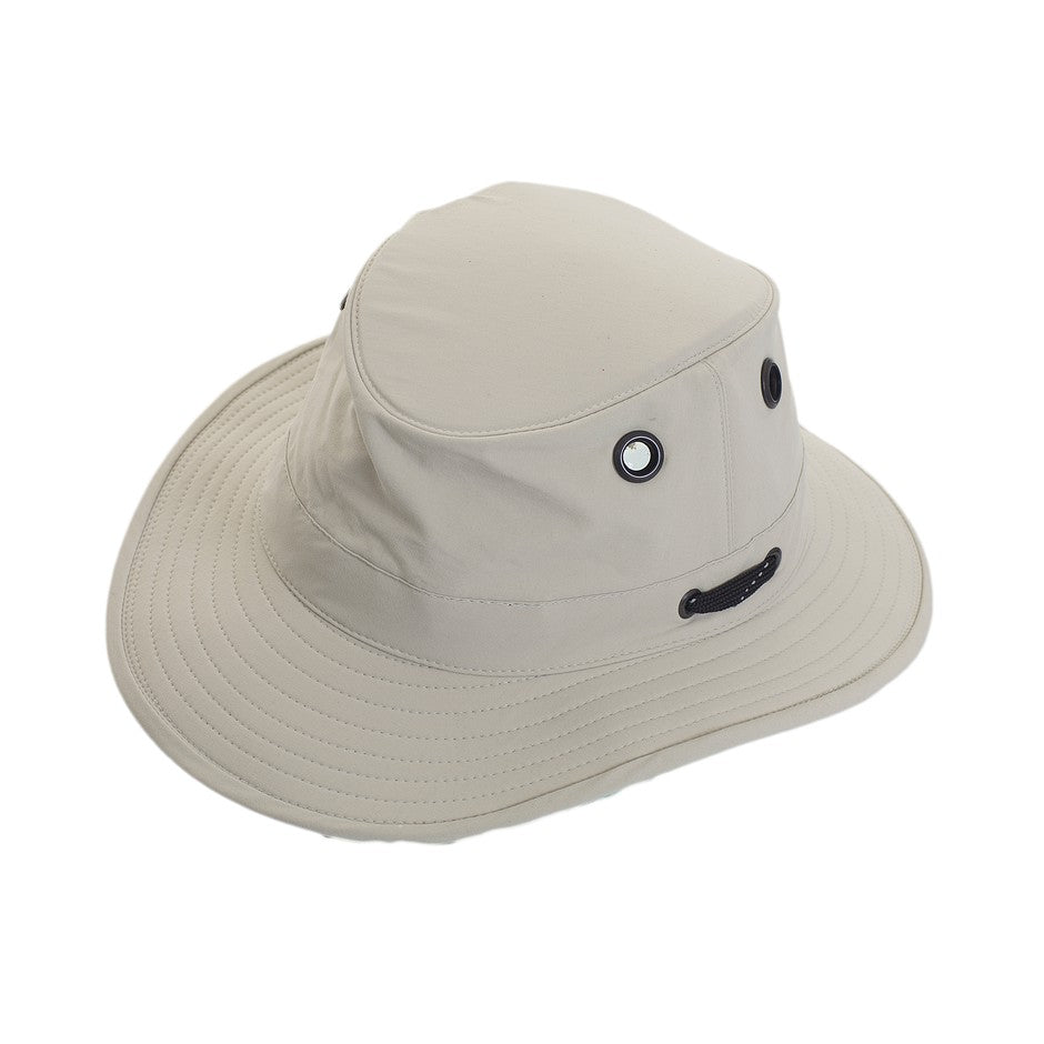 Lightweight Nylon Hat for Men in Stone