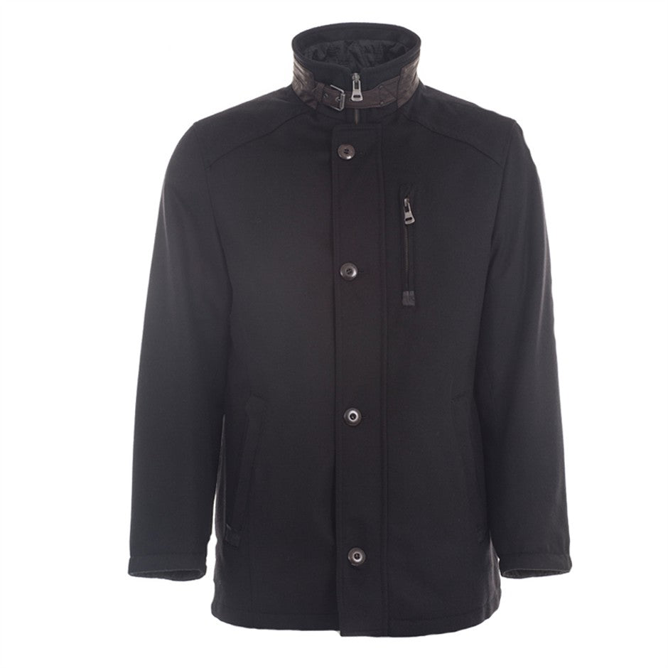 Mens GORE-TEX Car Coat in Black