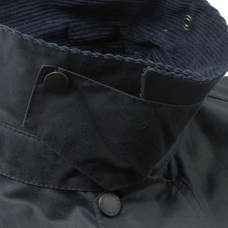 Beaufort Waxed Jacket for Men in Navy