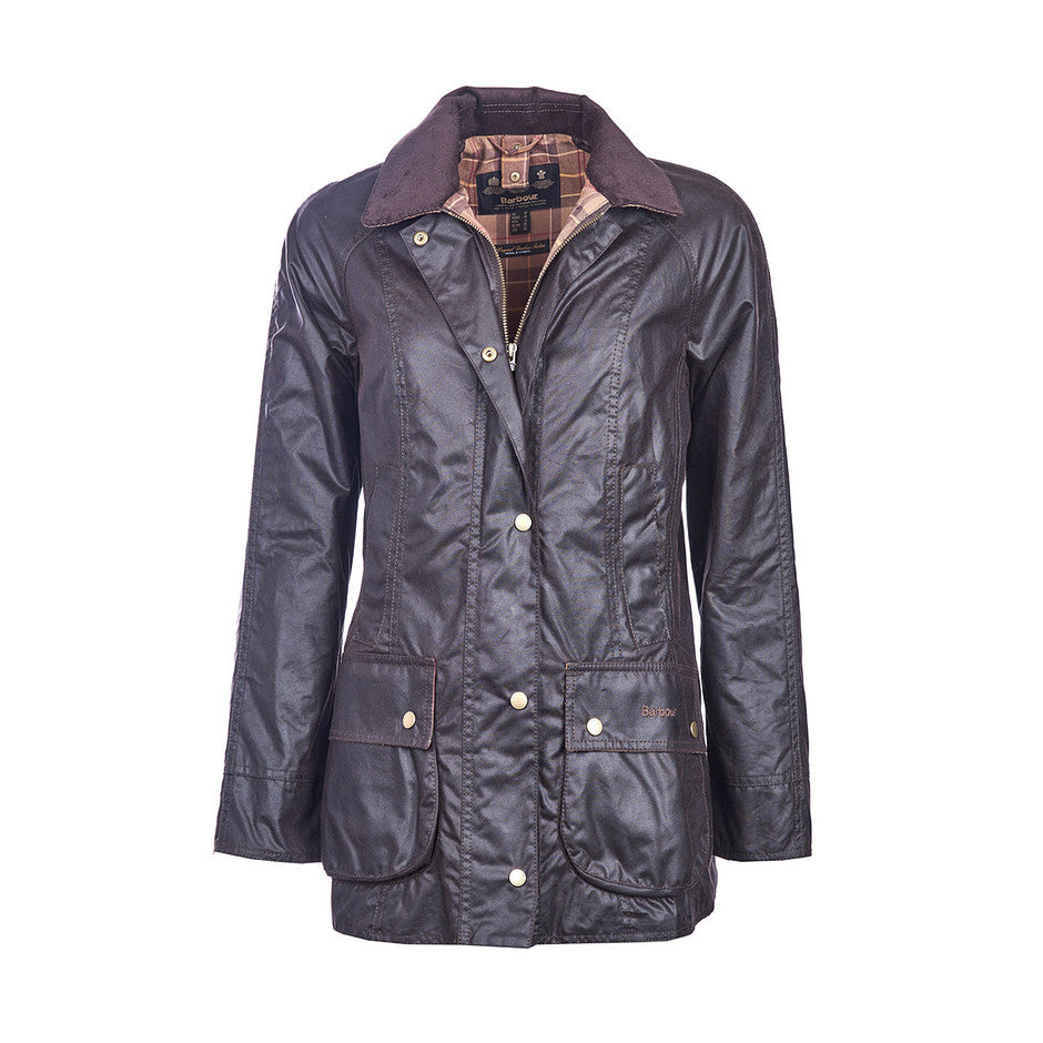 Beadnell Wax Jacket For Women In Rustic