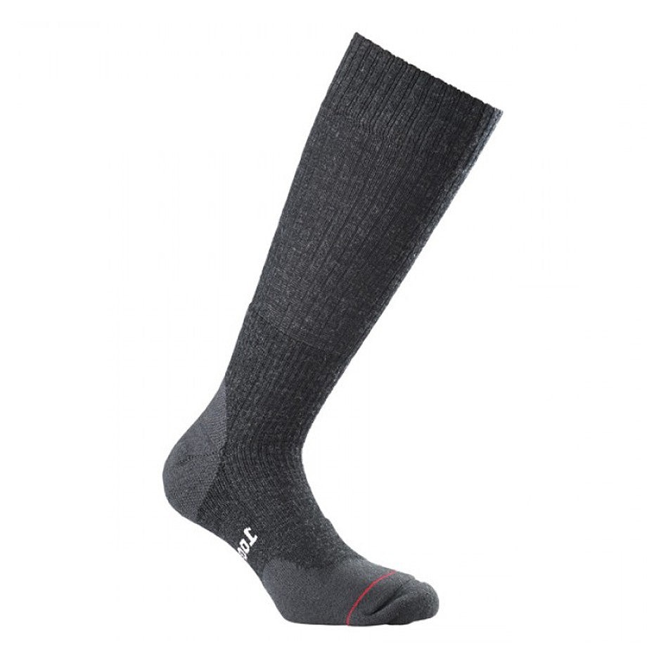 Fusion Walk Socks for Men in Charcoal