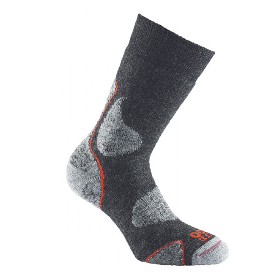 3 Season Walk Socks for Men in Charcoal