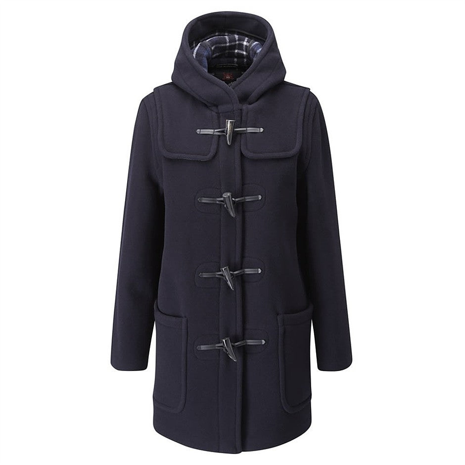 Style 435 Duffle Coat for Women in Navy Blue