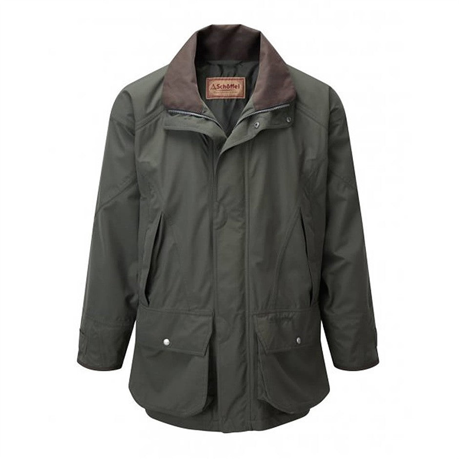 Ptarmigan Ultralight Coat for Men in Dark Olive