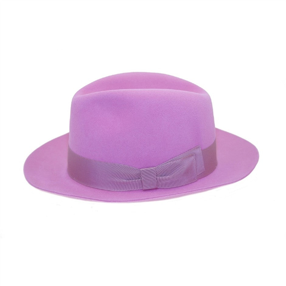 Mason Trilby Hat in Pink