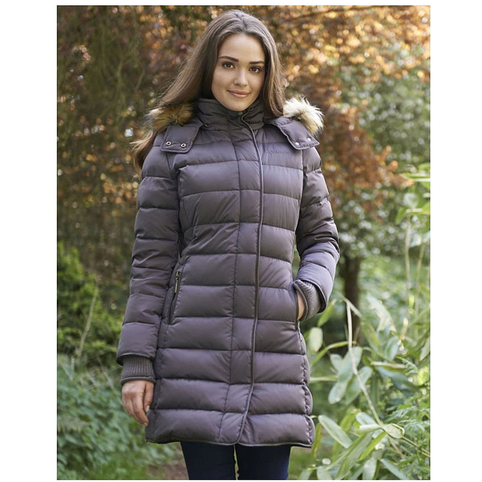 Mayfair Down Coat for Women in Juniper