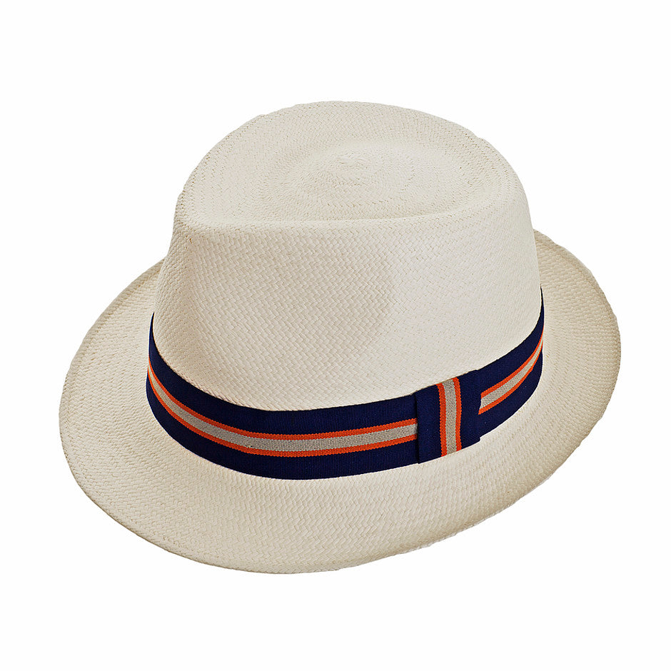 Panama Trilby Hat in Natural