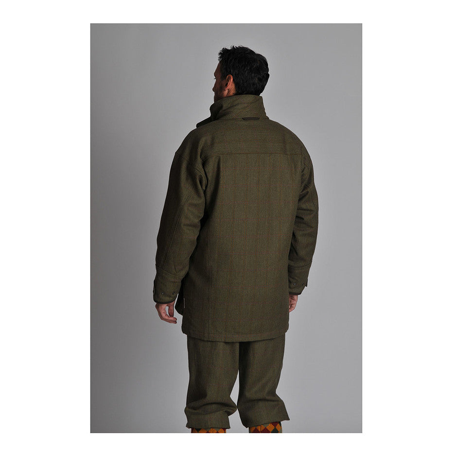 Ptarmigan Tweed Coat for Men in Sandringham Tweed