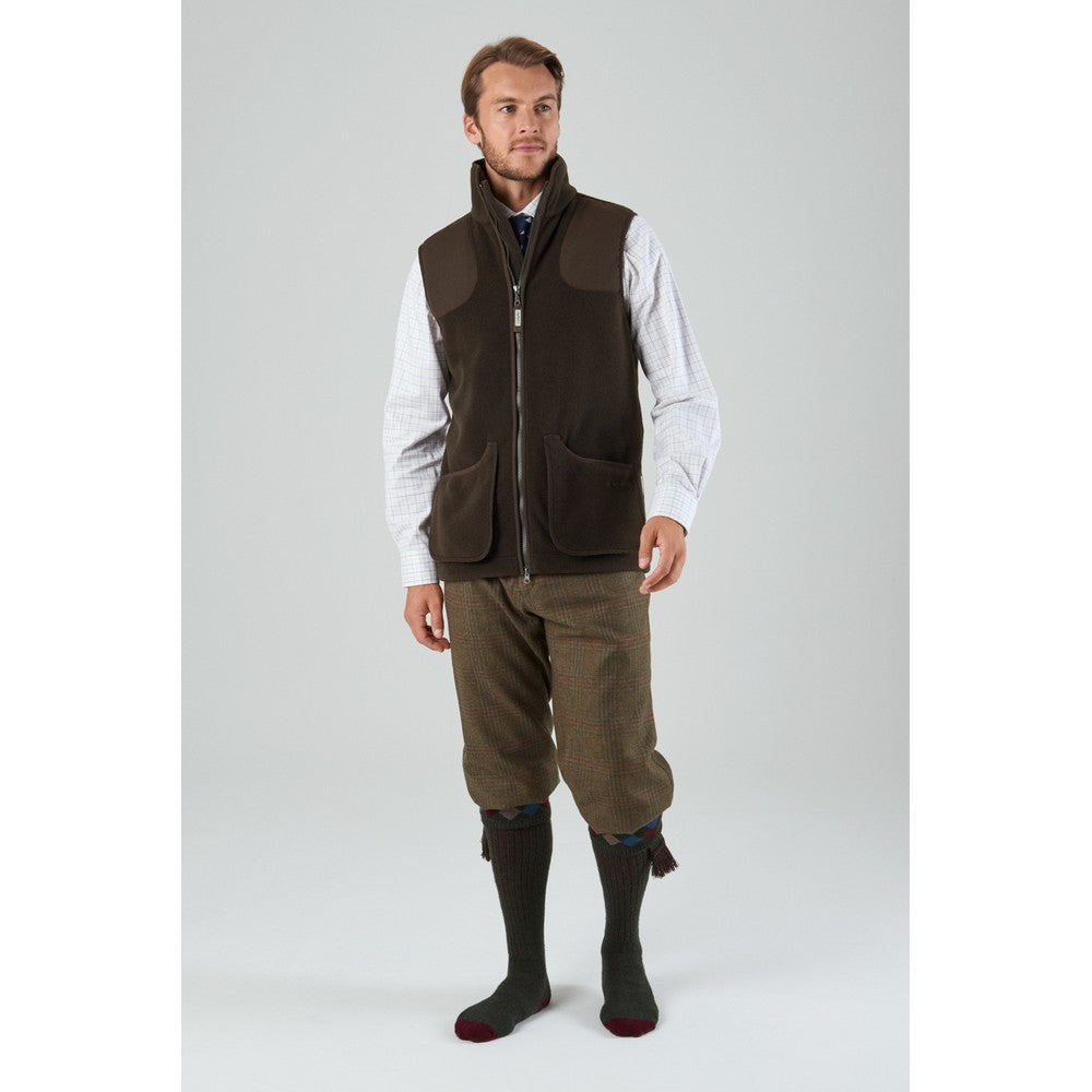 Gunnerside Shooting Vest for Men in Olive