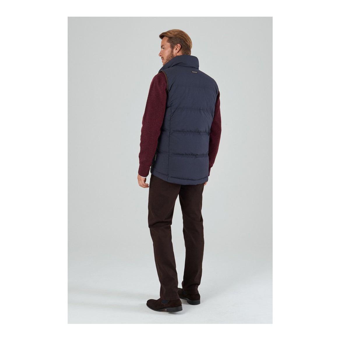 Twickenham Down Gilet for Men in Navy