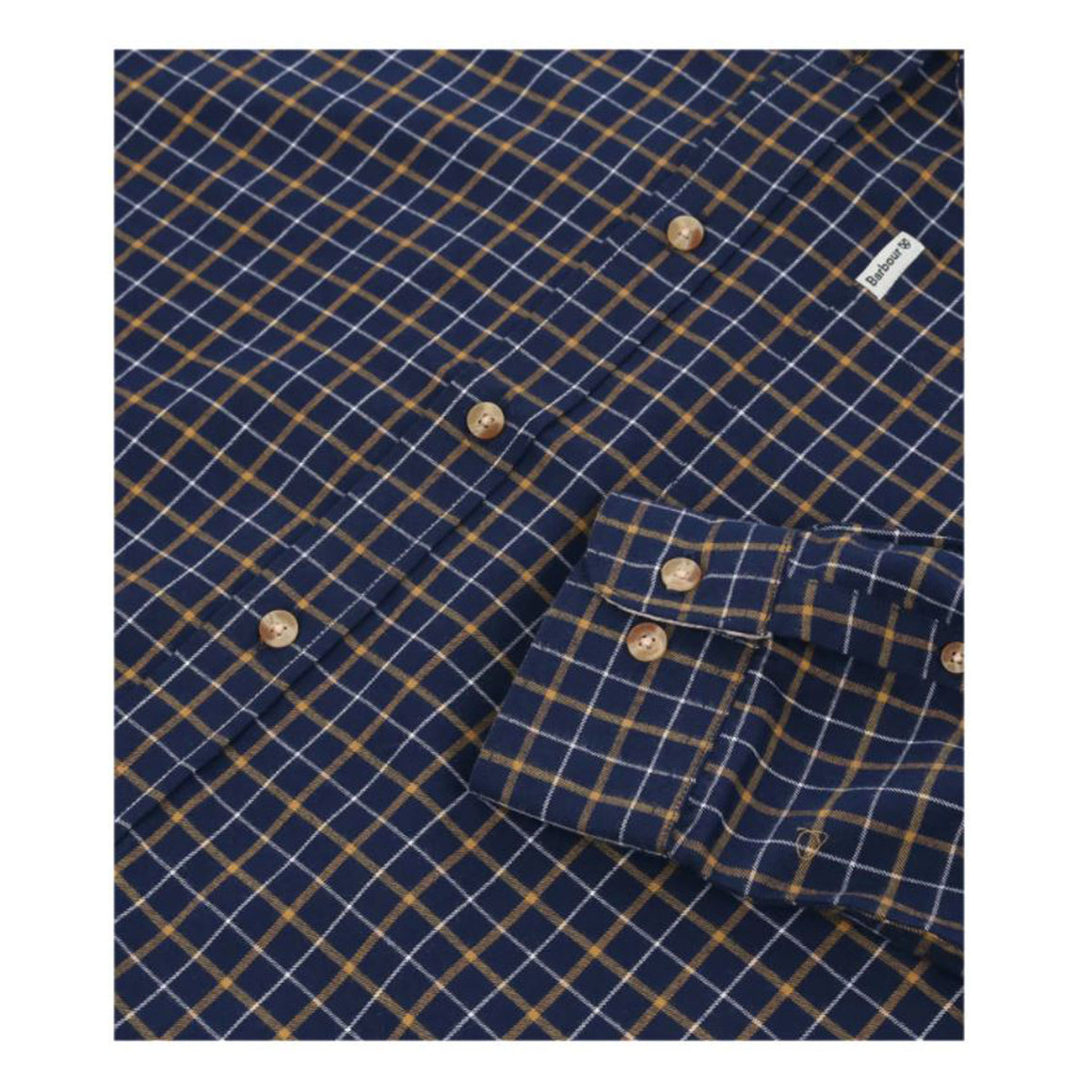 Bank Shirt for Men in New Navy Check