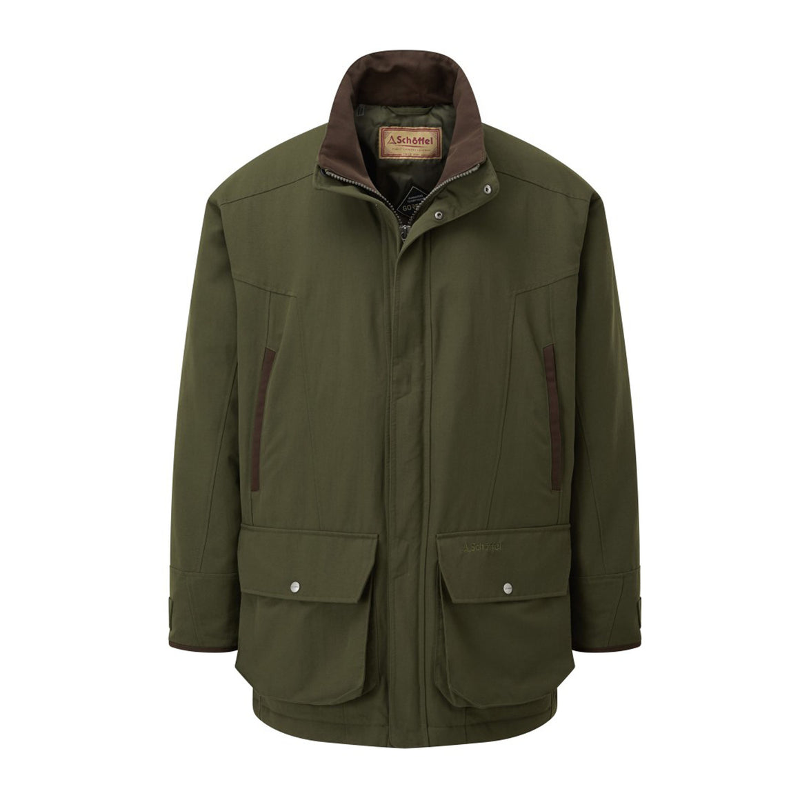 Ptarmigan Classic Coat for Men in Hunter Green