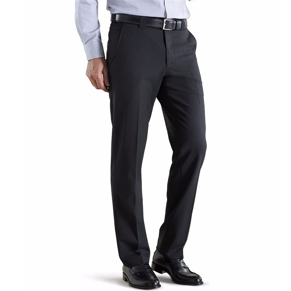 Roma Trousers for Men in Black