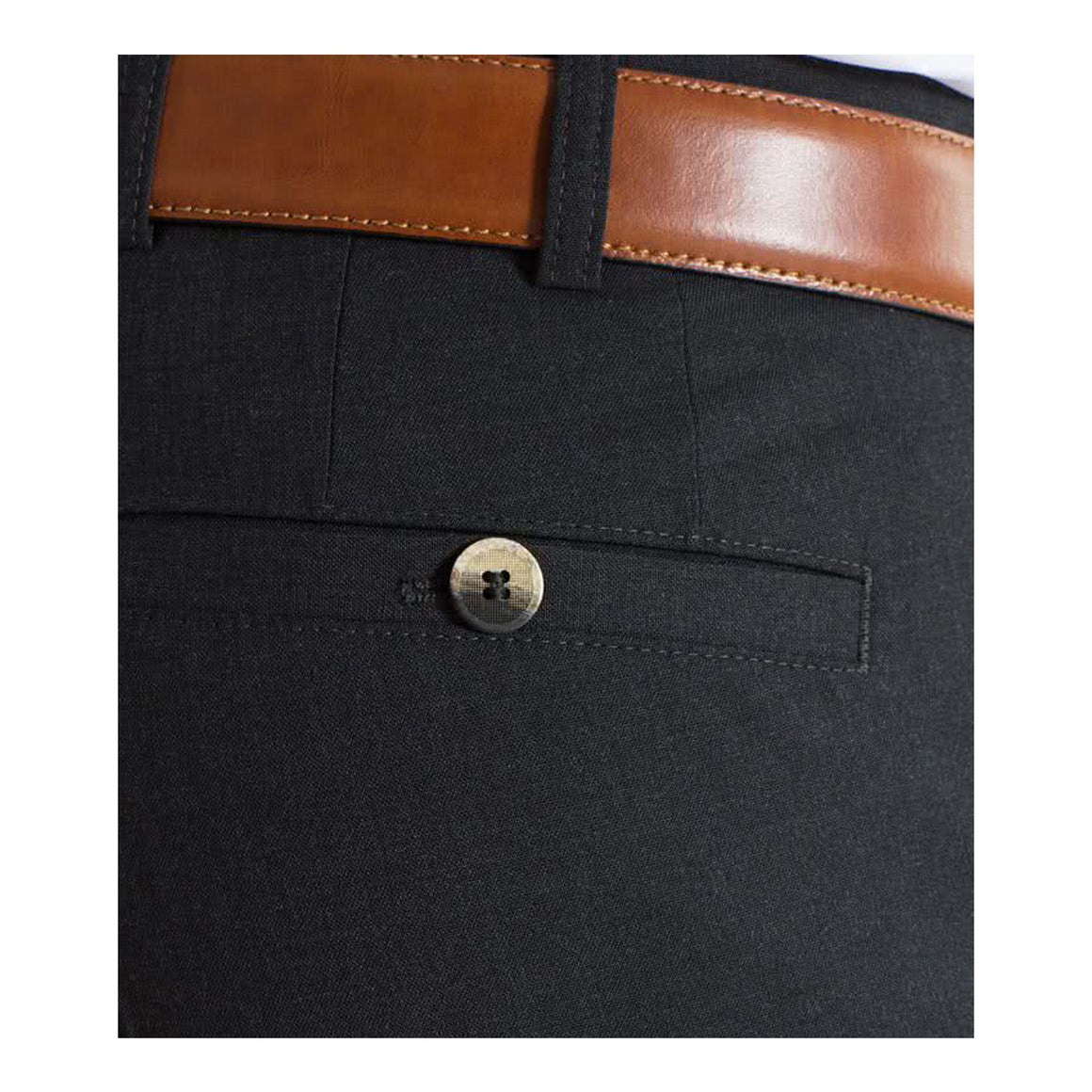 Roma Trousers for Men in Charcoal