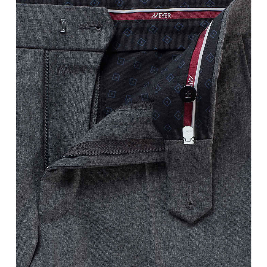 Roma Trousers for Men in Mid Grey