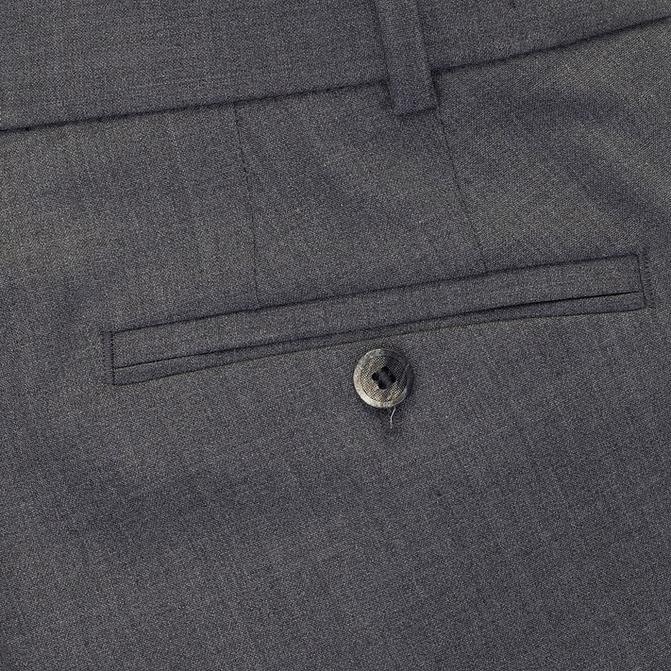 Oslo Soft Gabardine Trousers for Men in Grey