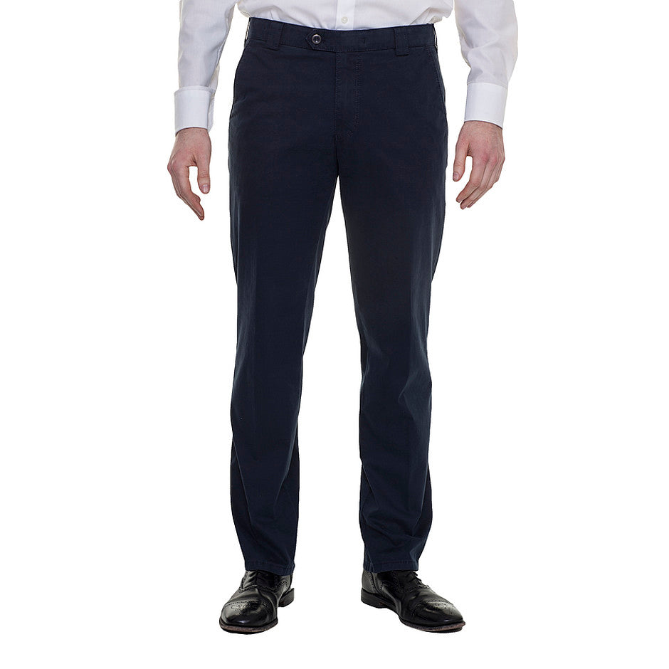 Roma Chino for Men in Navy