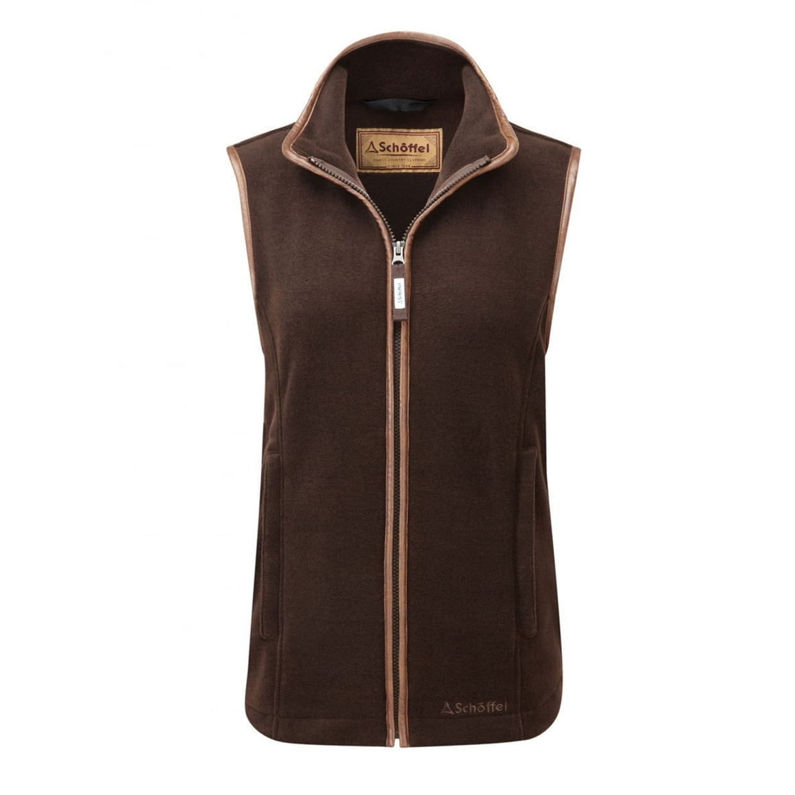 Lyndon Gilet for Women in Espresso