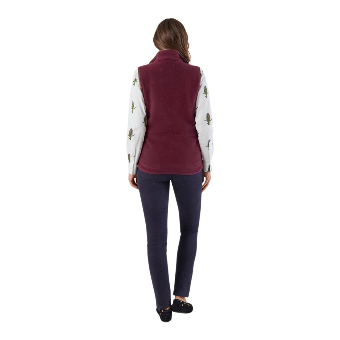 Lyndon Gilet for Women in Fig