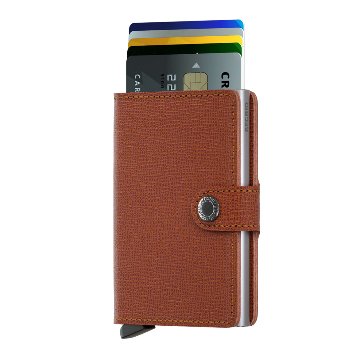 Crisple Miniwallet for Men in Camel