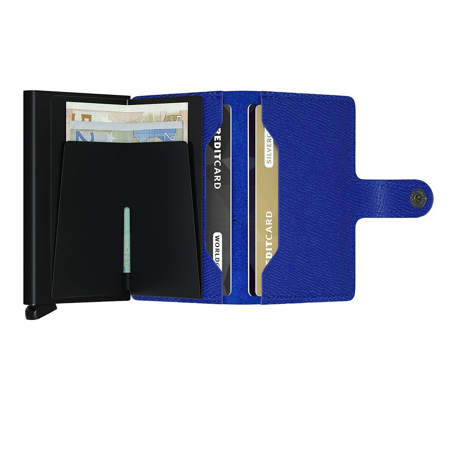 Crisple Miniwallet for Men in Blue and Black
