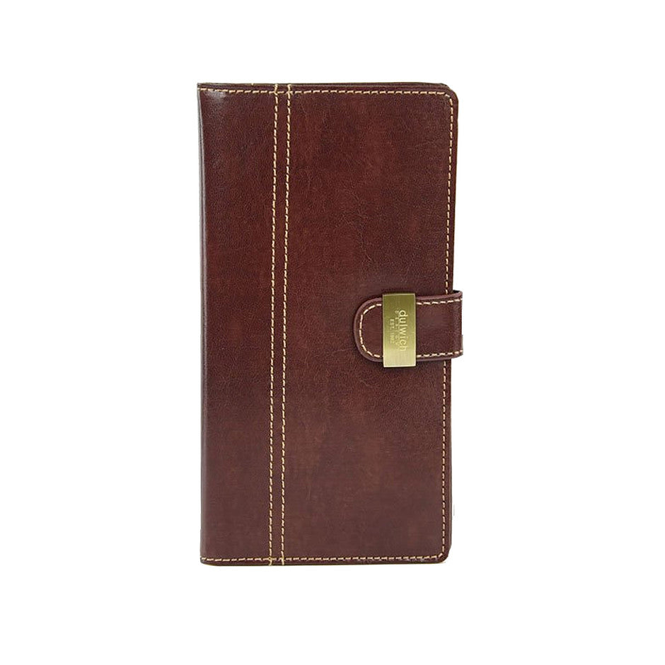 Heritage Travel Wallet in Chestnut Brown