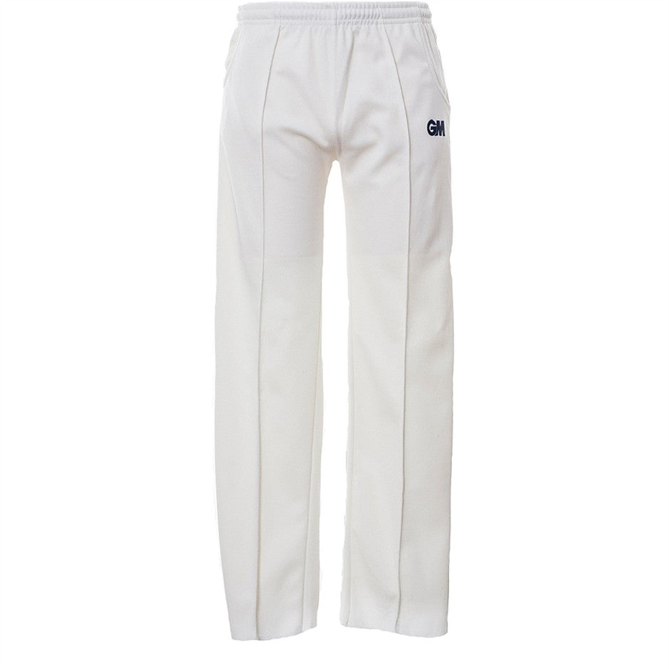 Junior Premier Cricket Trousers for Boys in Ivory