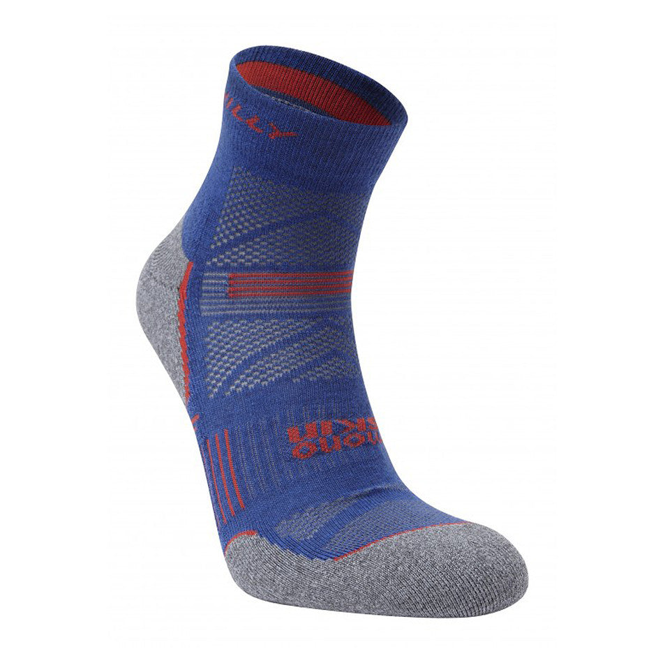 Supreme Anklet Socks for Men in Blue & Charcoal