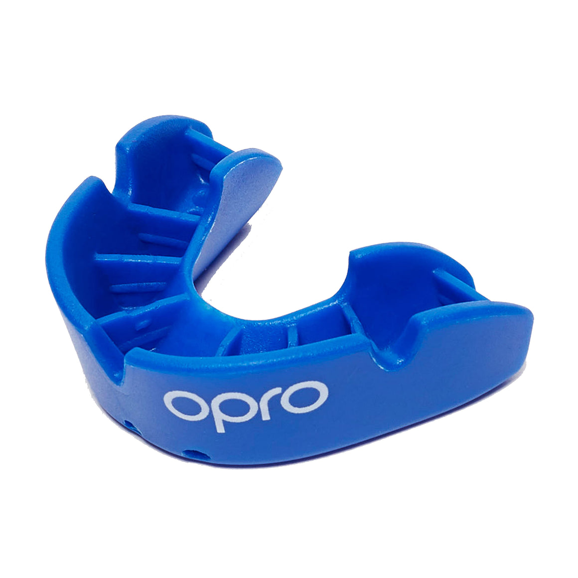 Bronze Mouth Guard for Adults and Juniors in Blue