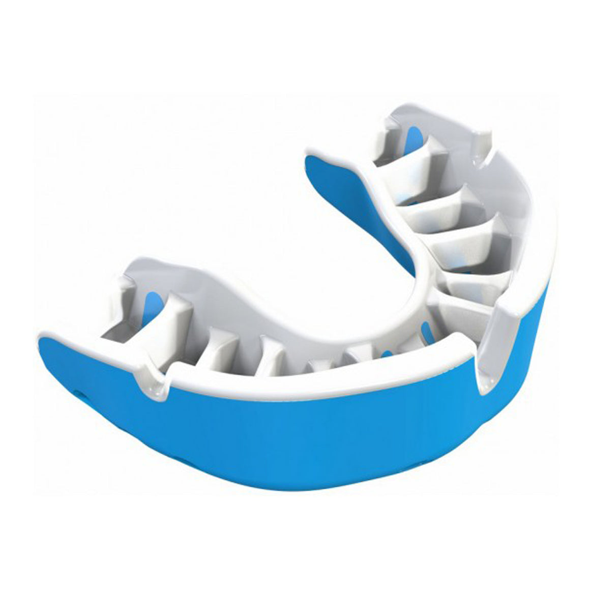 Gold Mouth Guard for Adults and Kids in Sky & White